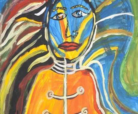 No.36 The vulcano woman
