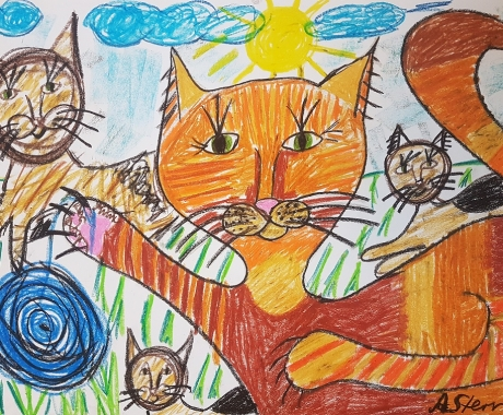 No. 79 The playing cats