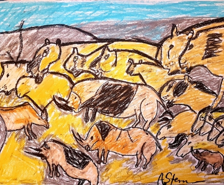 No. 87 The cave painting