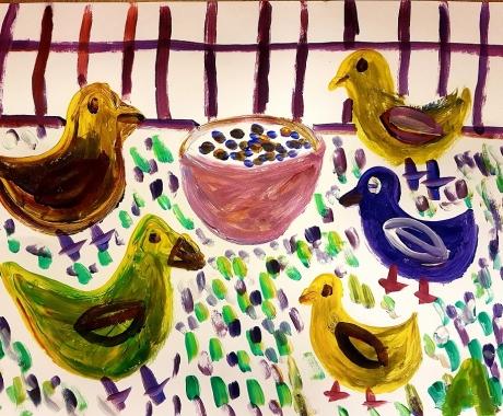 No. 90 The sparrows